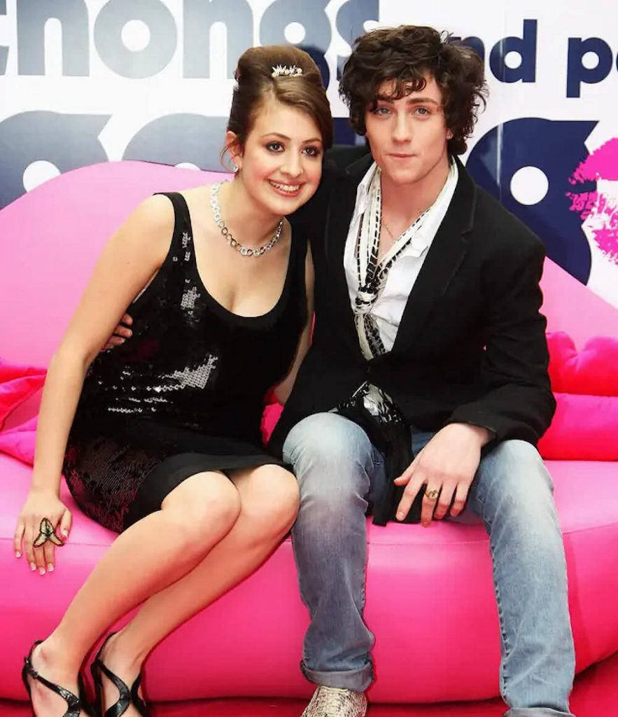 Aaron Taylor-Johnson with ex gf Georgia Groome