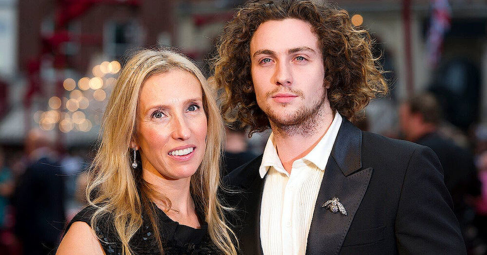 Aaron Taylor-Johnson with his current wife Sam Taylor-Johnson