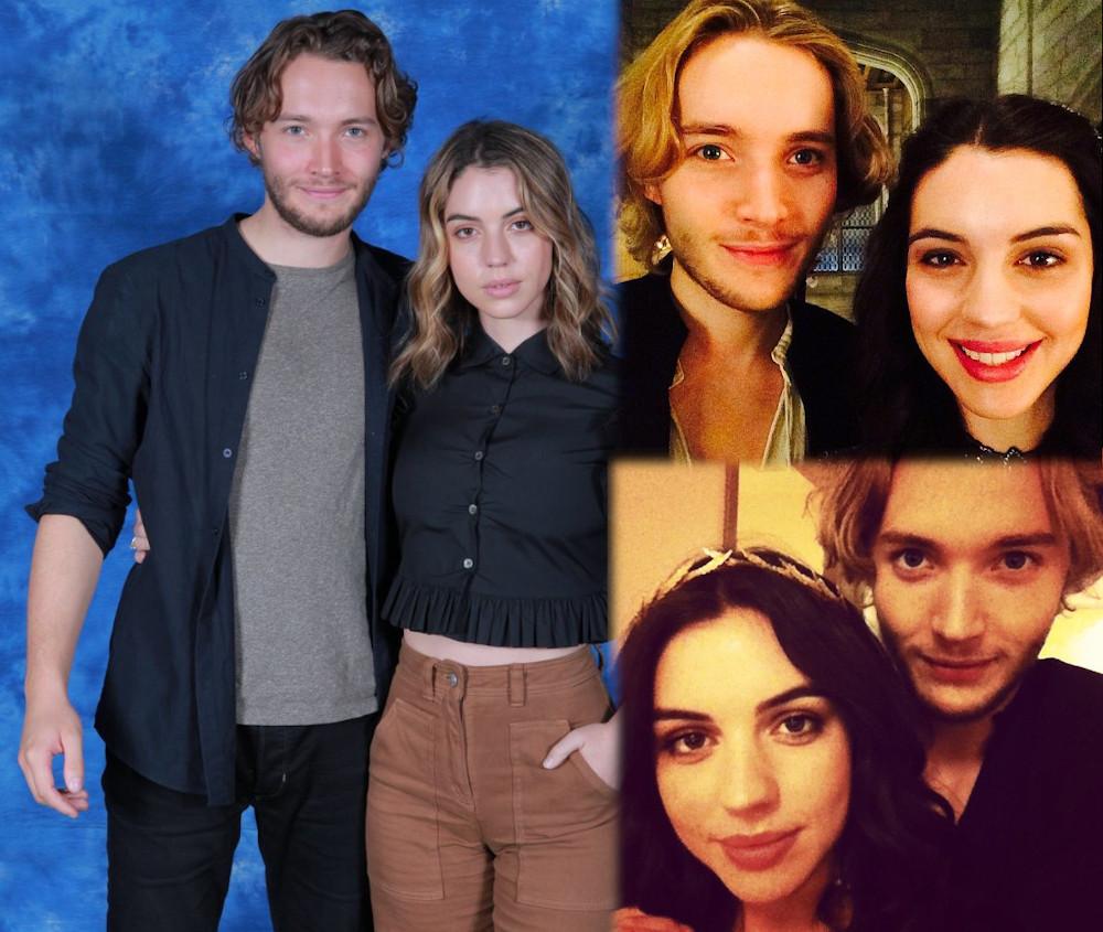 Adelaide Kane with ex boyfriend Toby Regbo