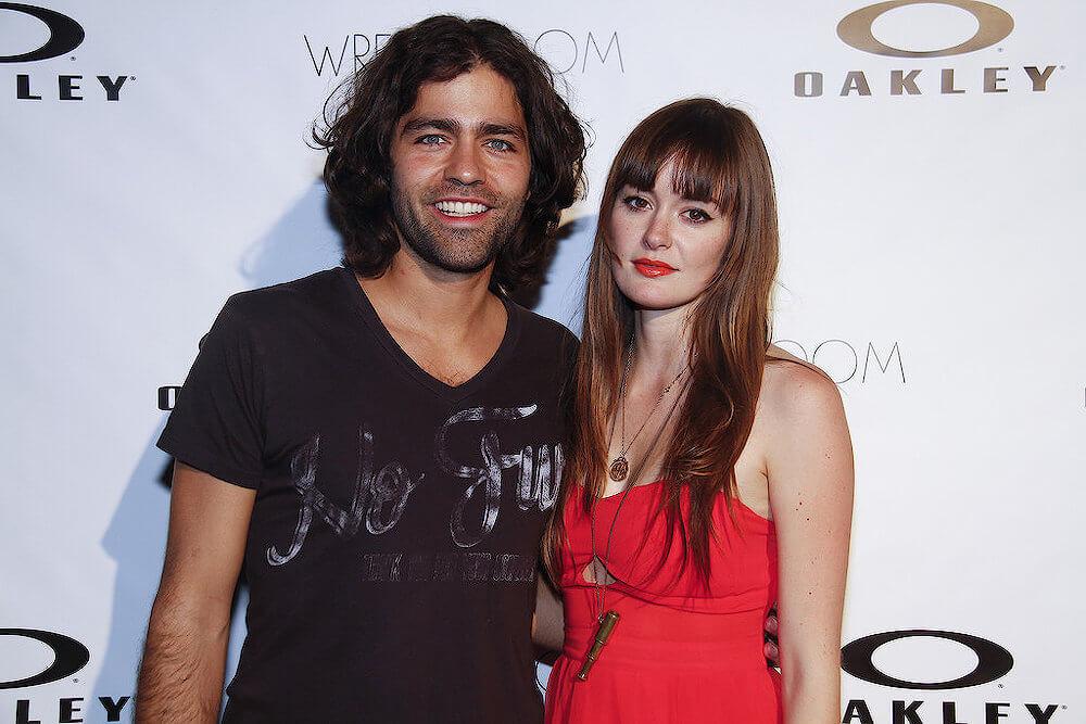Adrian Grenier and ex girlfriend Emily Caldwell