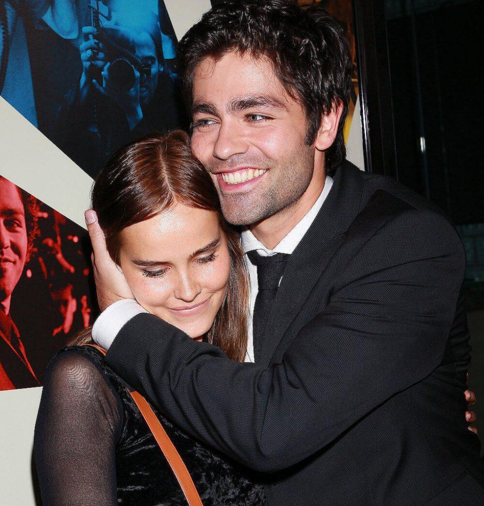 Adrian Grenier and ex gf Isabel Lucas