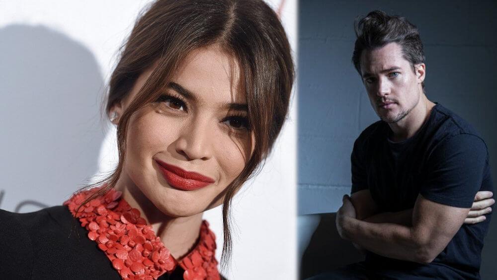 Alexander Dreymon and ex girlfriend Anne Curtis