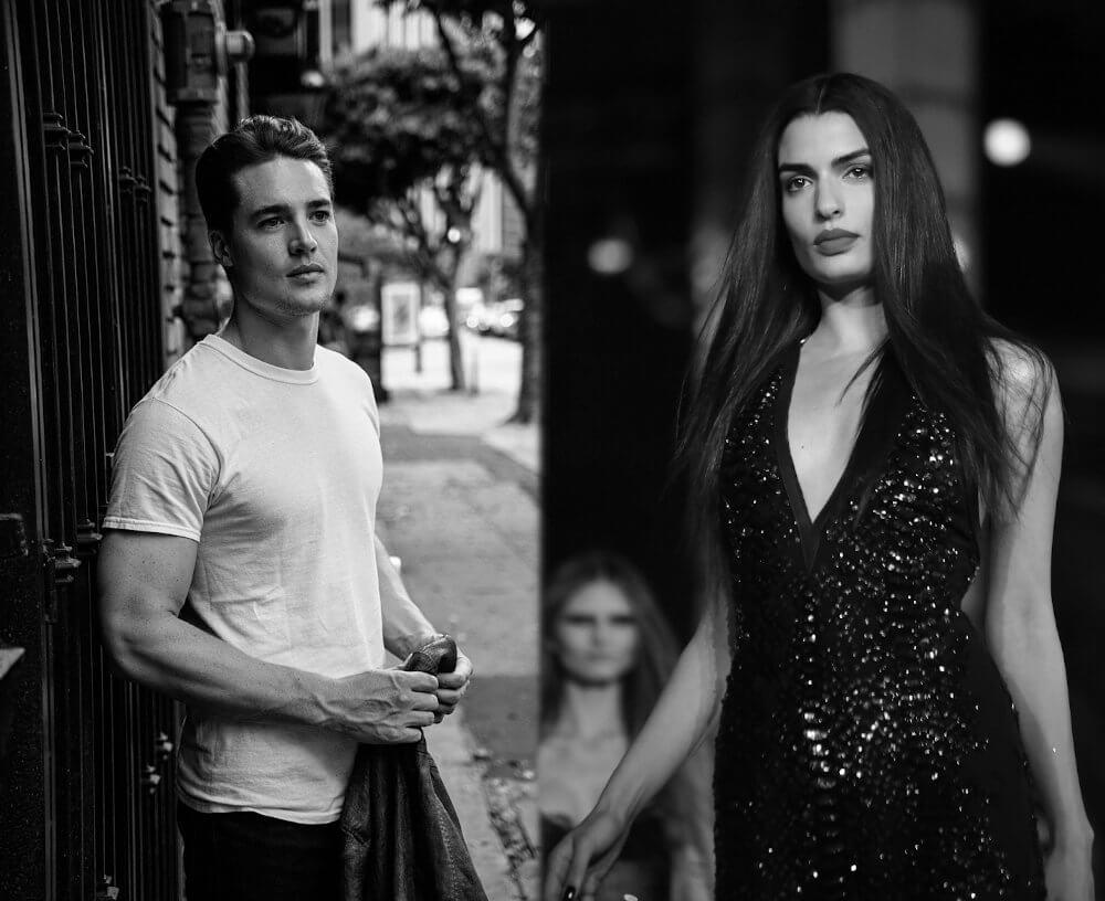 Alexander Dreymon and girlfriend Tonia Sotiropoulou