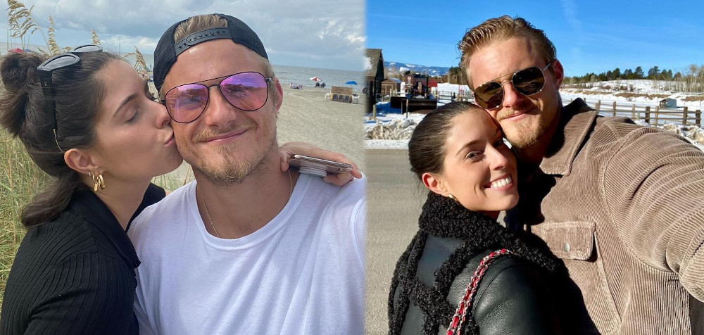 Alexander Ludwig with girlfriend Lauren Dear