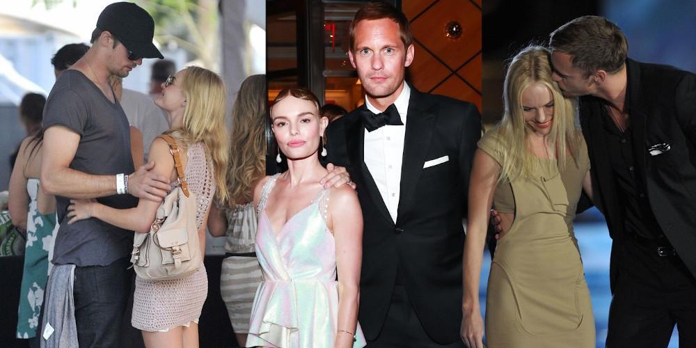 Alexander Skarsgard and ex girlfriend Kate Bosworth