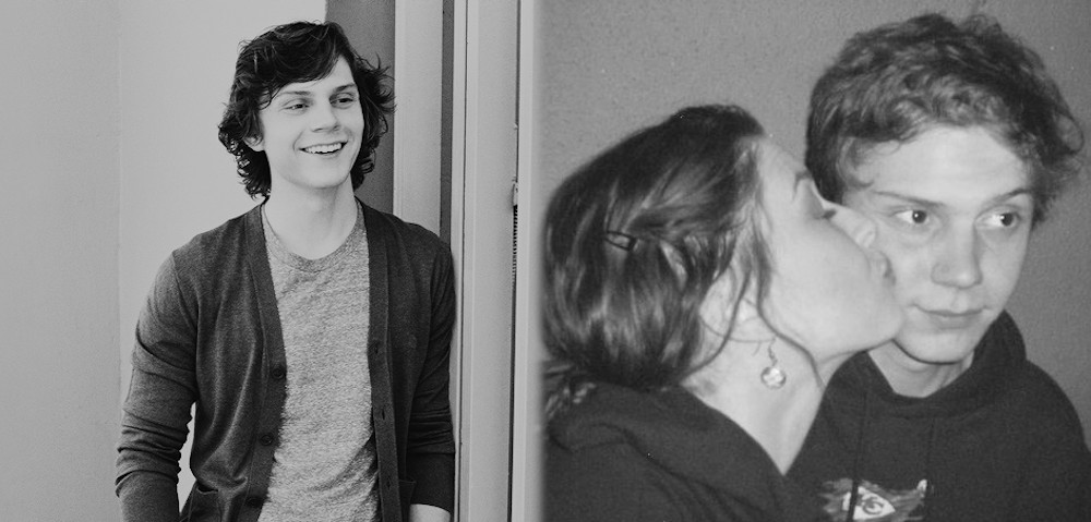 Alexandra Breckenridge with Evan Peters