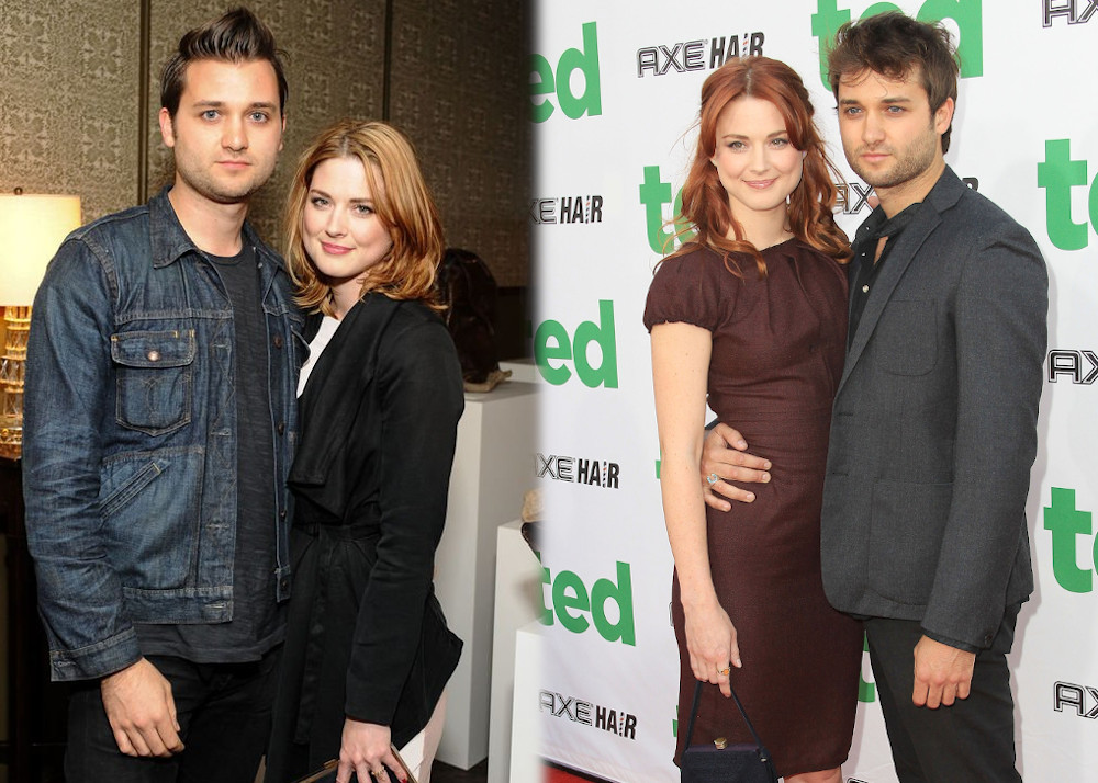 Alexandra Breckenridge with husband Casey Hooper