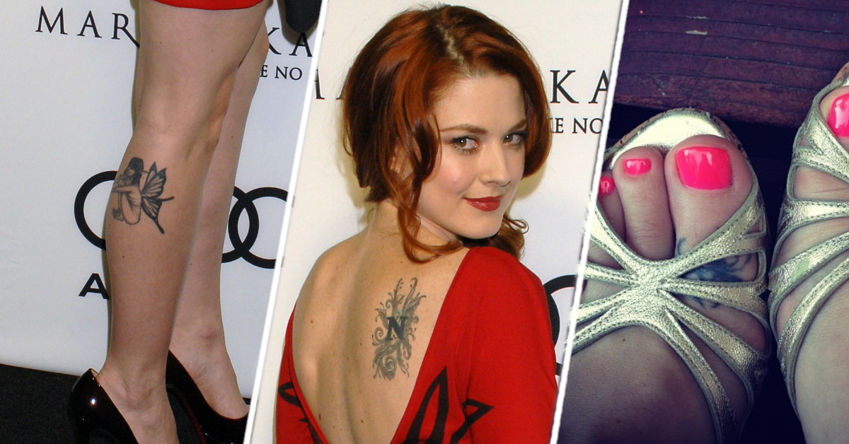 Alexandra Breckenridge tattoos and meanings