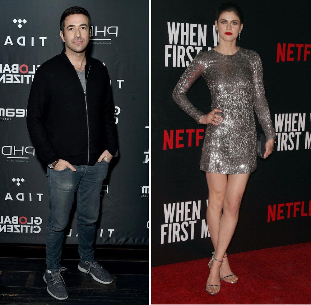 Alexandra Daddario and ex boyfriend Ari Melber