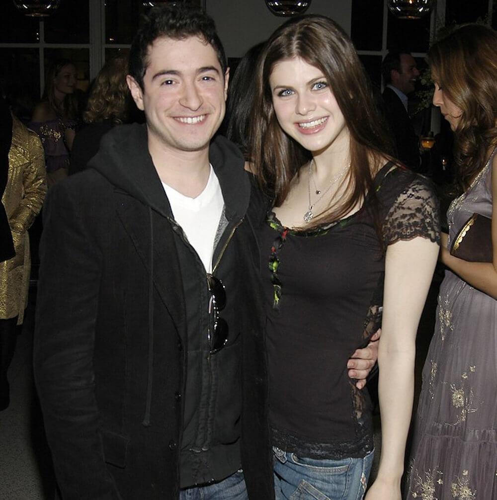 Alexandra Daddario and ex Jason Fuchs