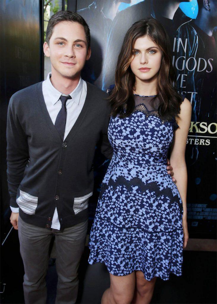 Alexandra Daddario and ex boyfriend Logan Lerman