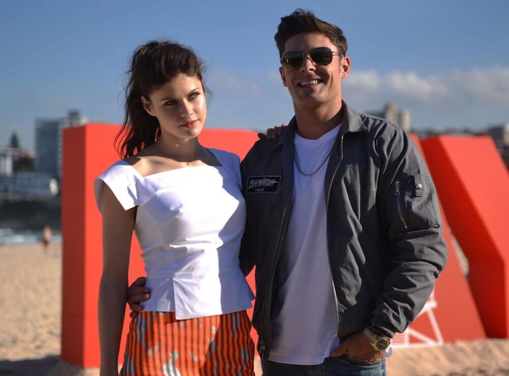 Alexandra Daddario and boyfriend Zac Efron