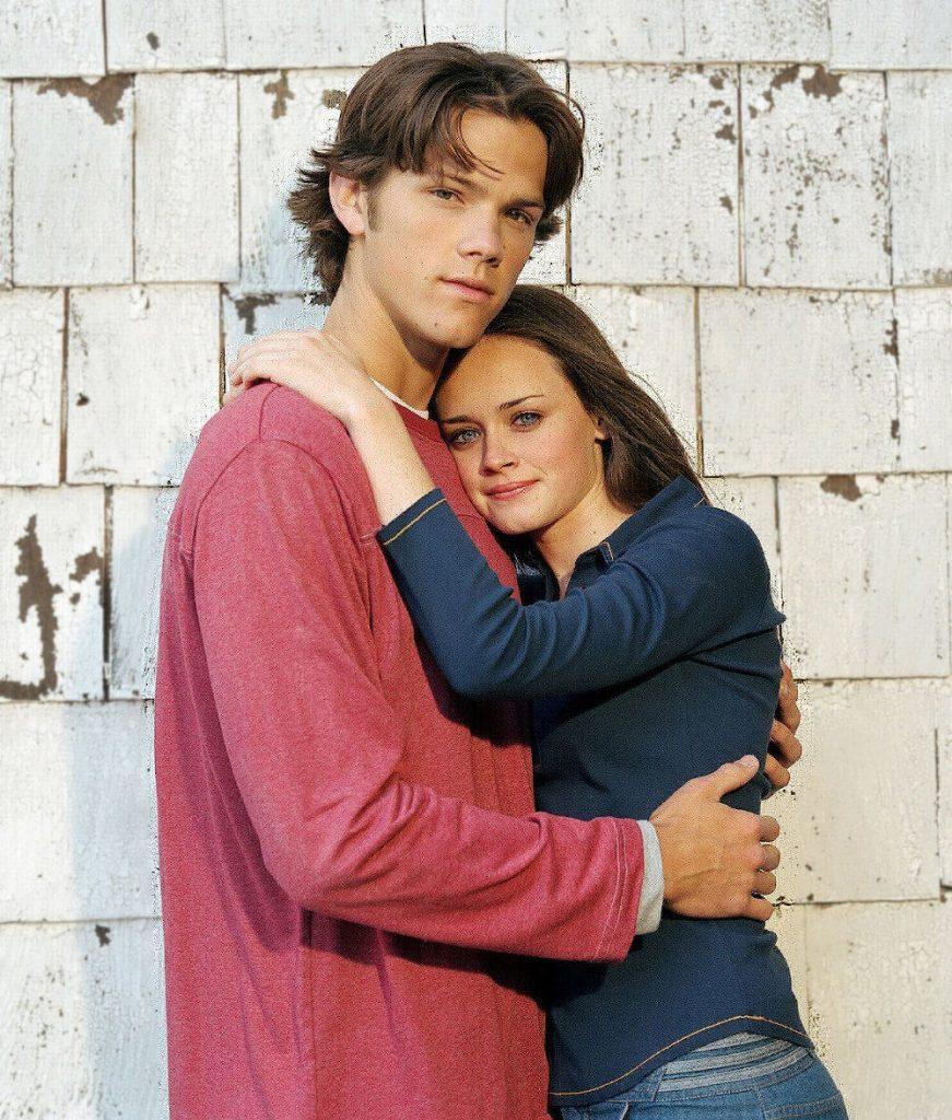 Alexis Bledel and ex boyfriend Jared Padalecki