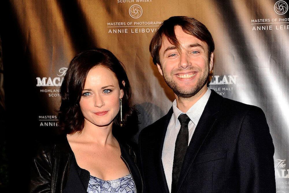 Alexis Bledel and current husband Vincent Kartheiser