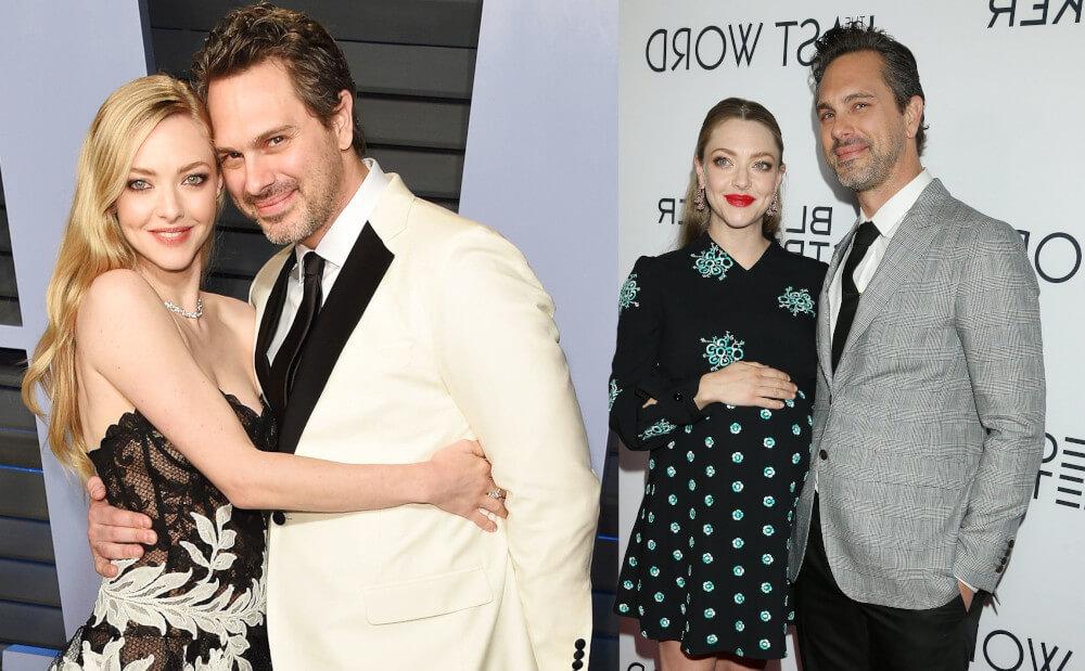Amanda Seyfried with new husband Thomas Sadosk
