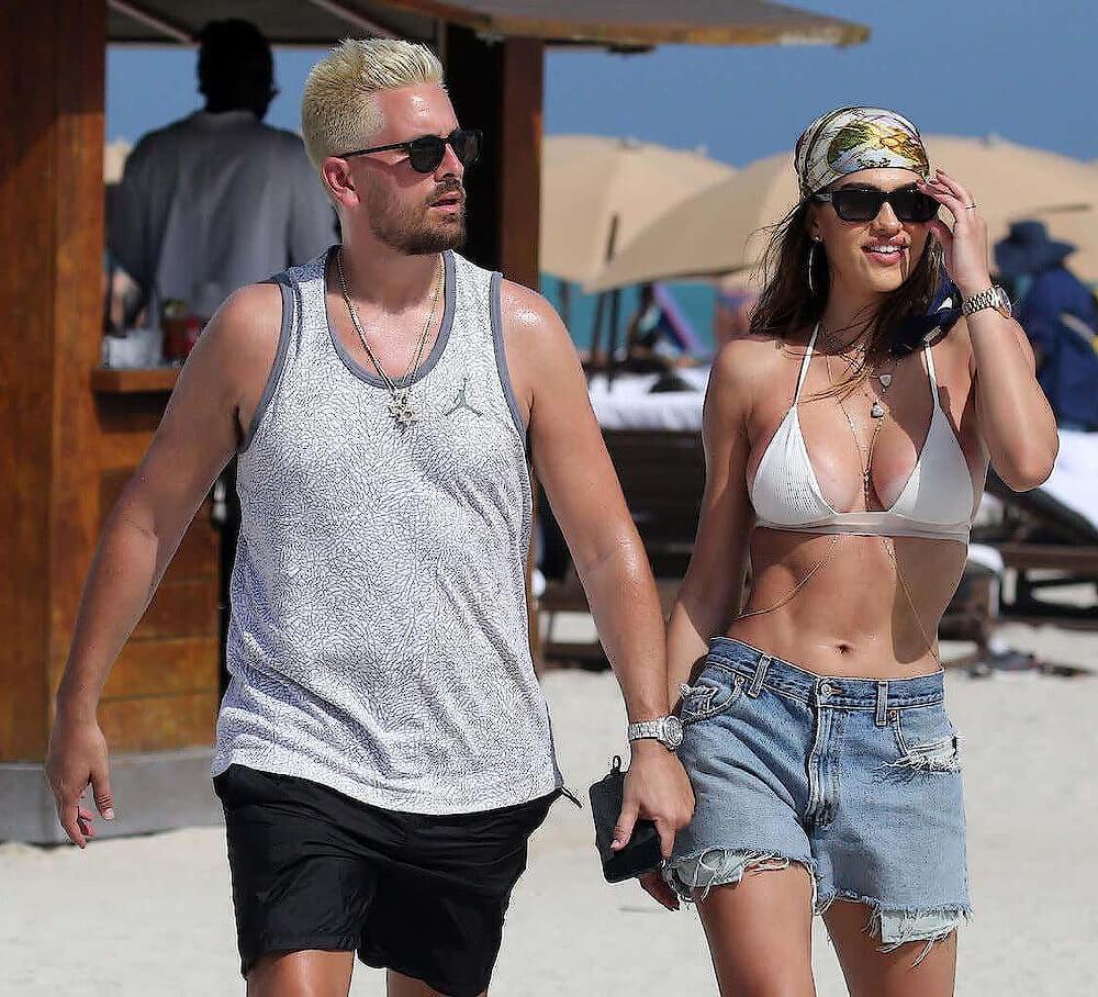 Amelia Hamlin and boyfriend Scott Disick