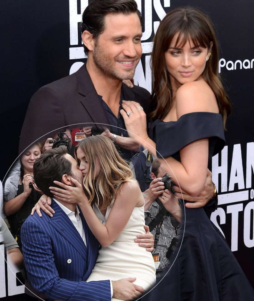 Ana de Armas with Edgar Ramirez