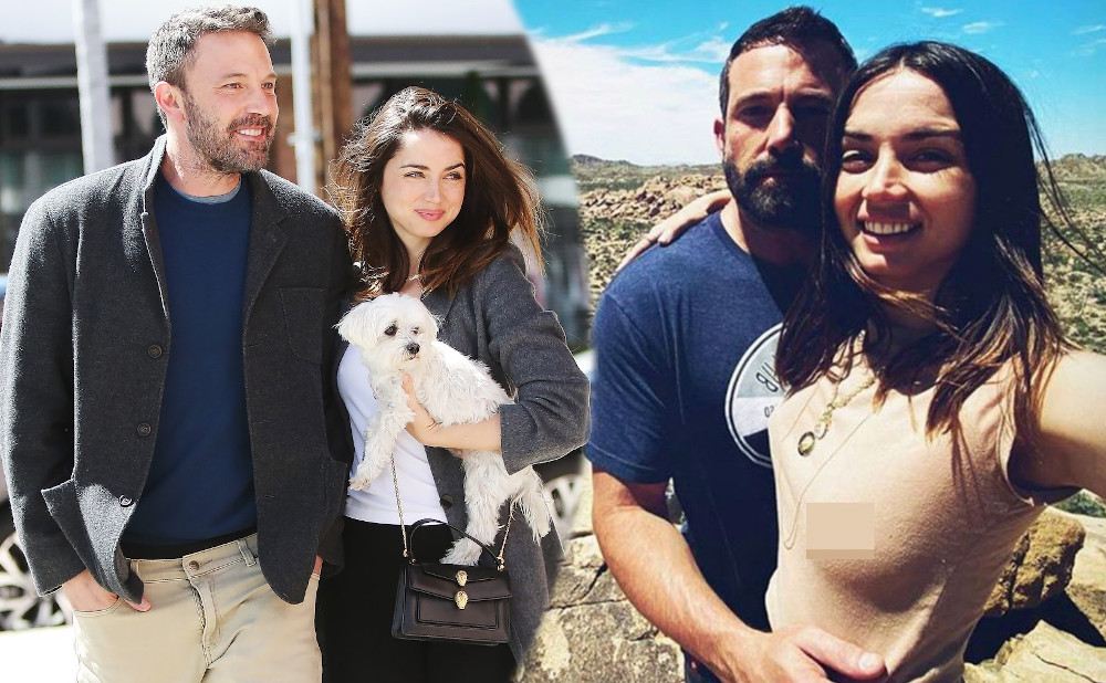 Ana de Armas with boyfriend Ben Affleck
