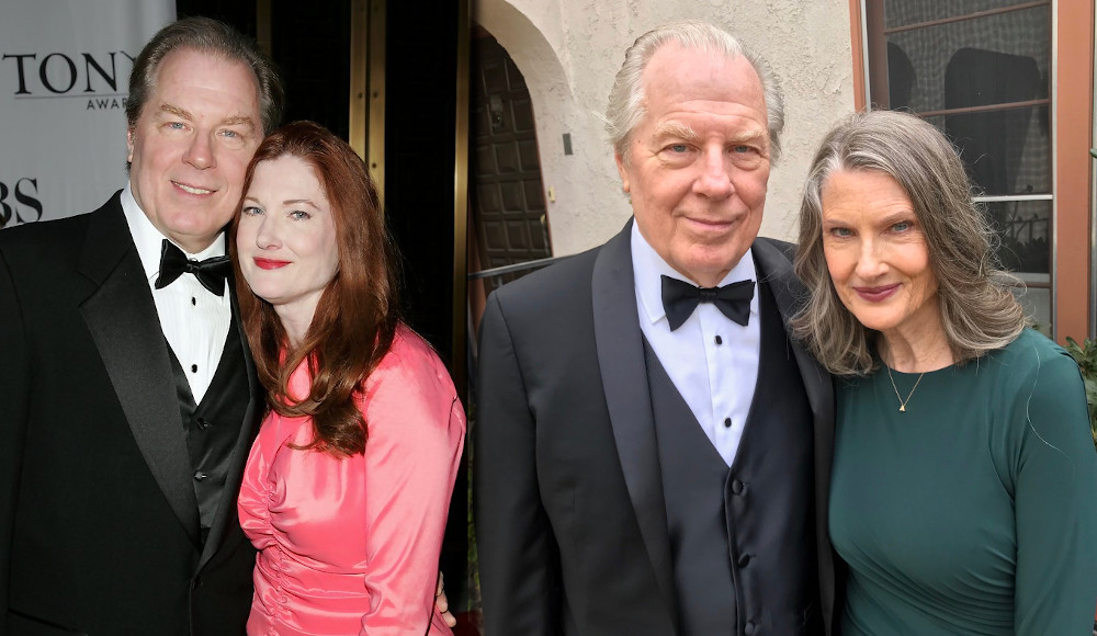 Annette O'toole with husband Michael McKean