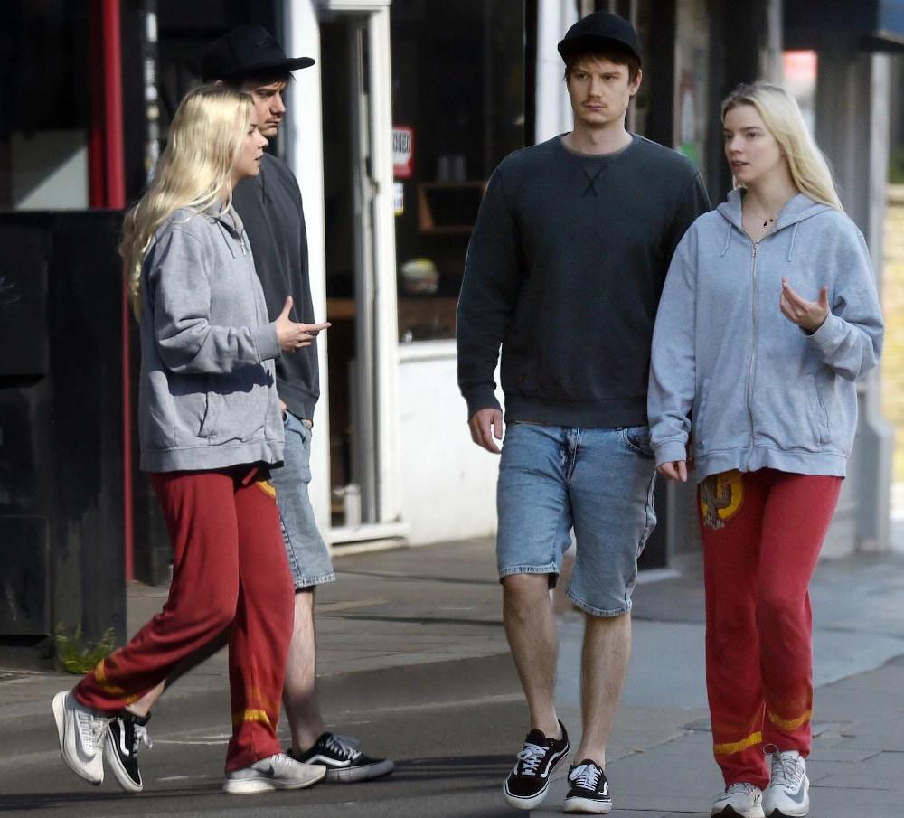 Anya Taylor-Joy with boyfriend Ben Seed