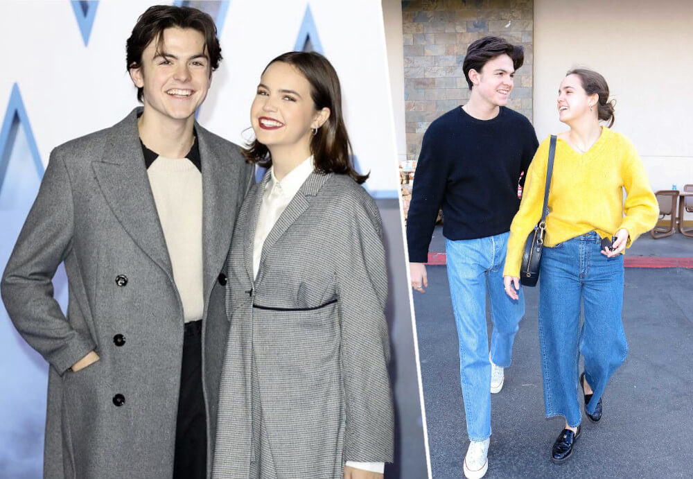 Bailee Madison with boyfriend Blake Richardson