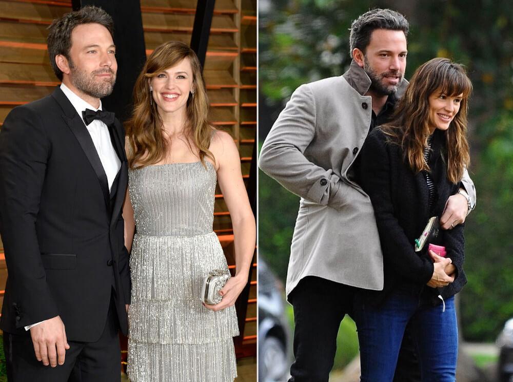 Ben Affleck and ex wife Jennifer Garner