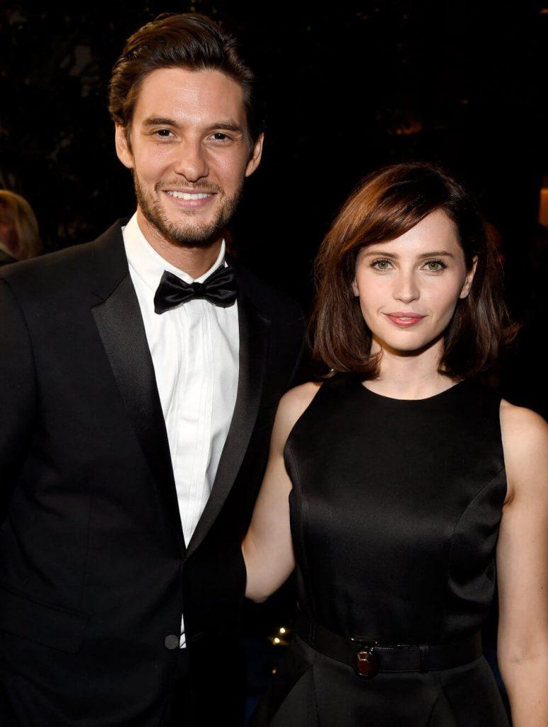 Ben Barnes and Felicity Jones