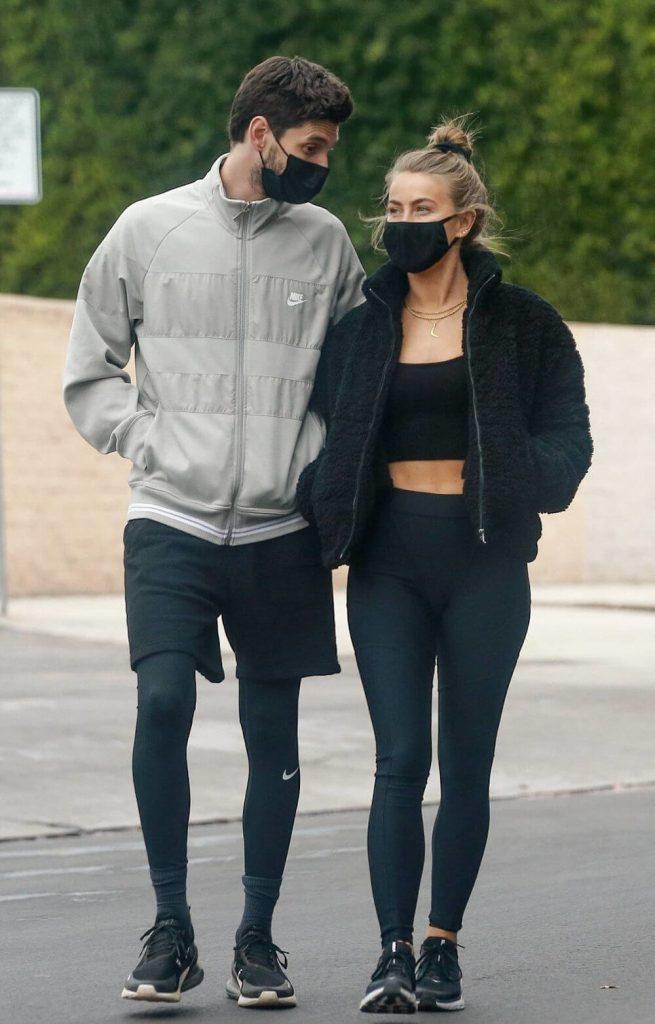 Ben Barnes and girlfriend Julianne Hough
