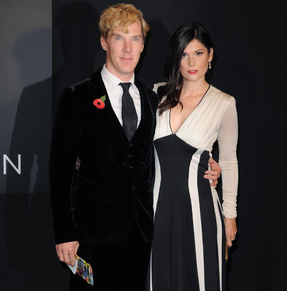 Benedict Cumberbatch and ex girlfriend Anna Jones