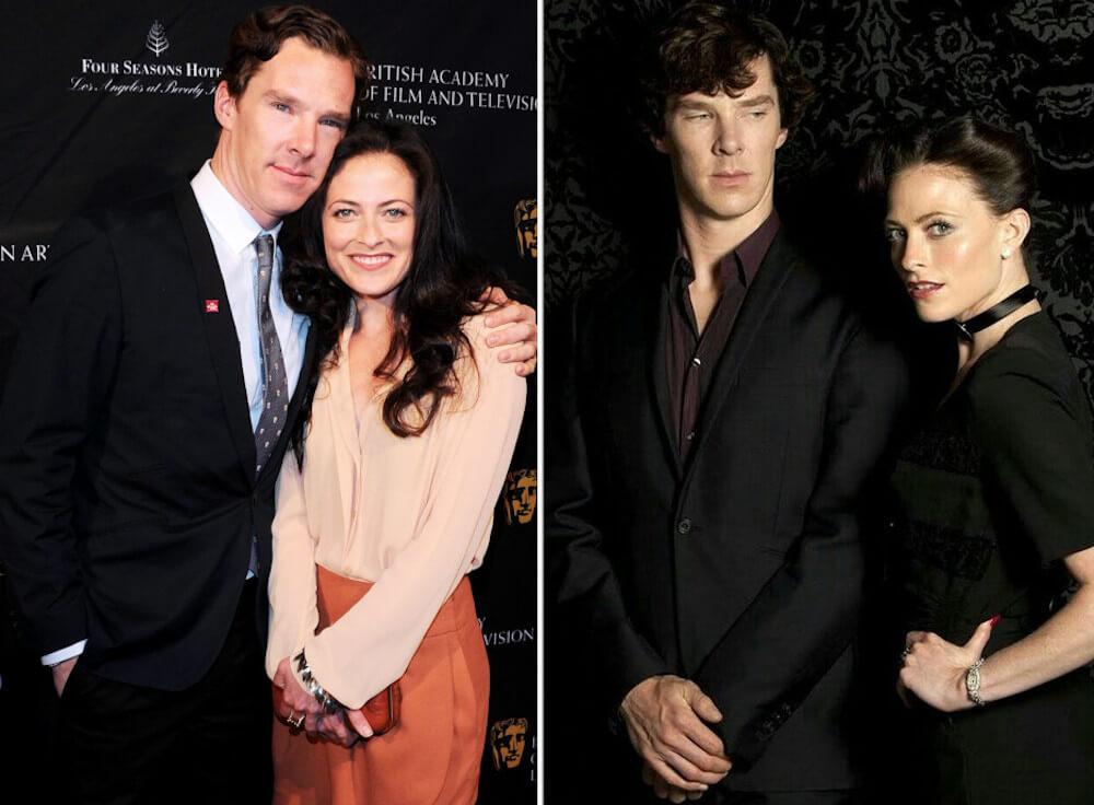 Benedict Cumberbatch and ex Lara Pulver