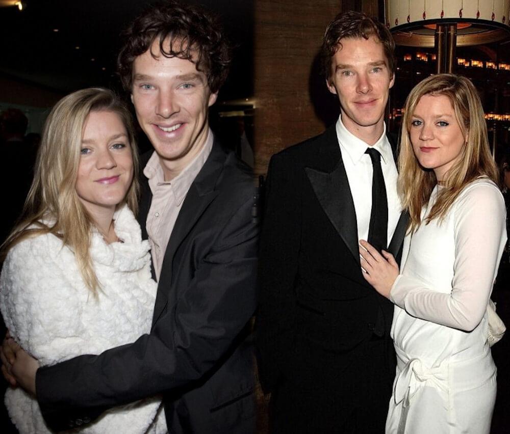 Benedict Cumberbatch and ex girlfriend Olivia Poulet
