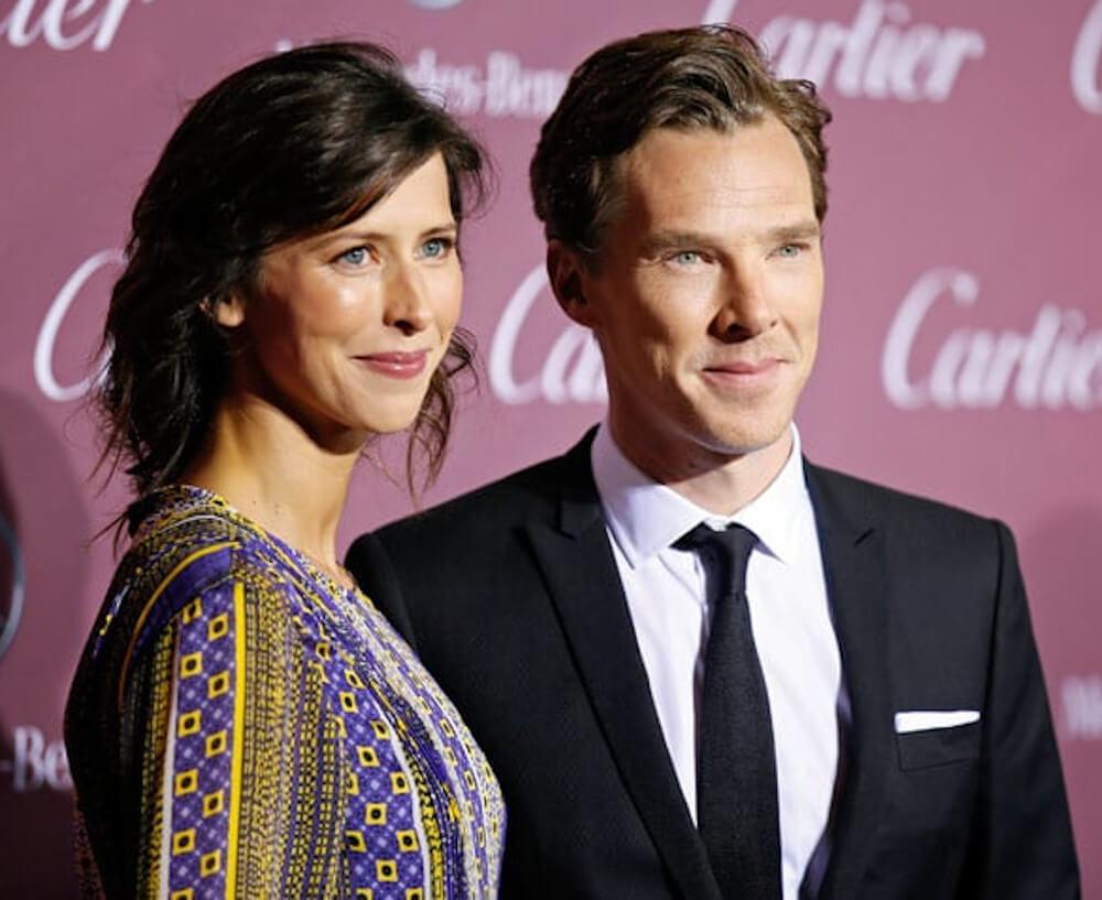 Benedict Cumberbatch and wife Sophie Hunter