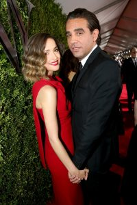 Bobby and his long-term girlfriend Rose Byrne