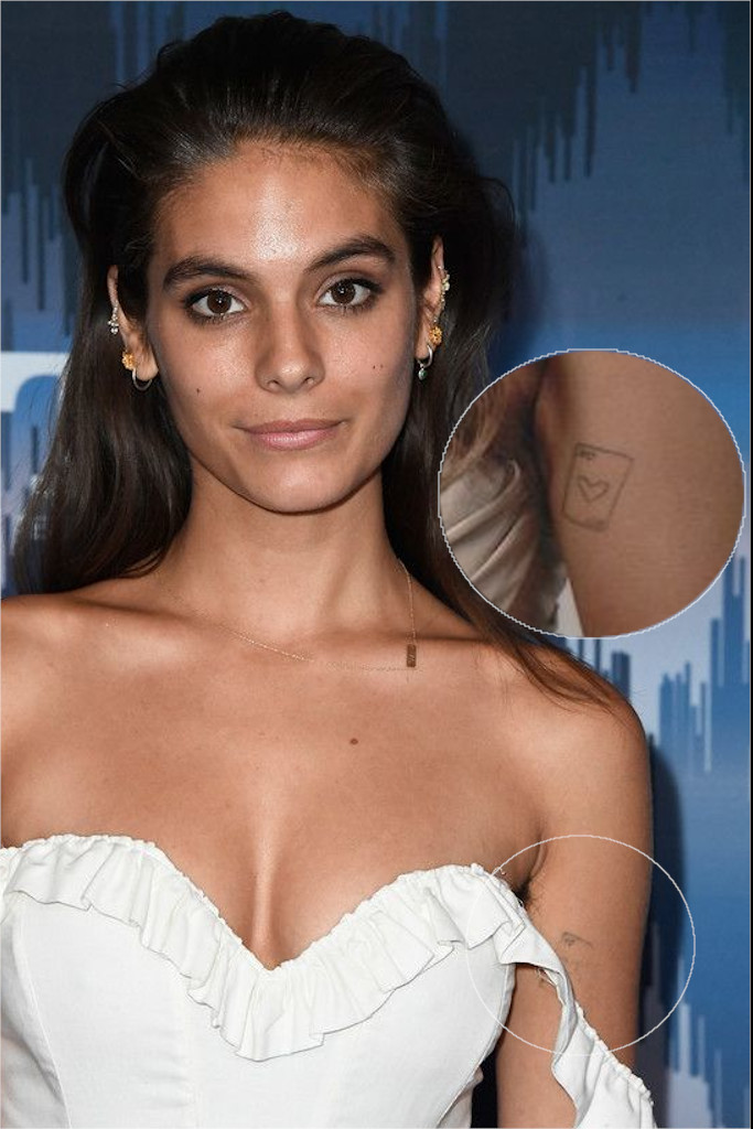 Caitlin Stasey Card Tattoo