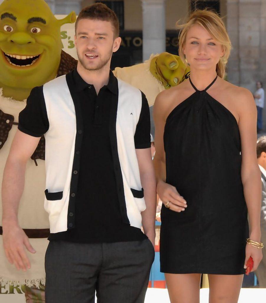 Cameron Diaz and ex boyfriend Justin Timberlake