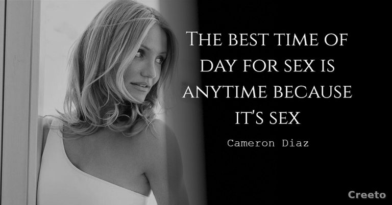 Cameron Diaz quotes about time