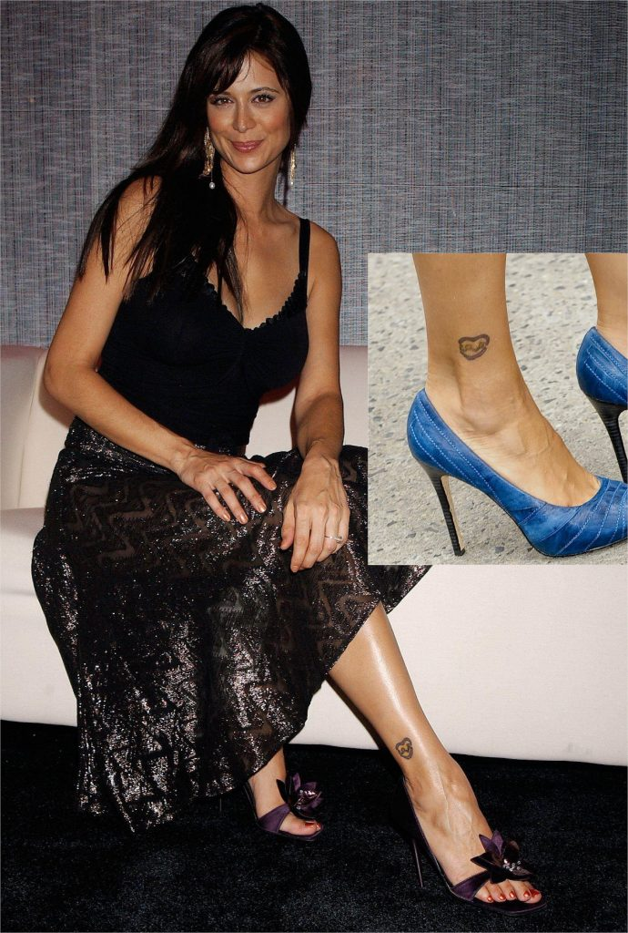 Catherine Bell Ankle Tattoo