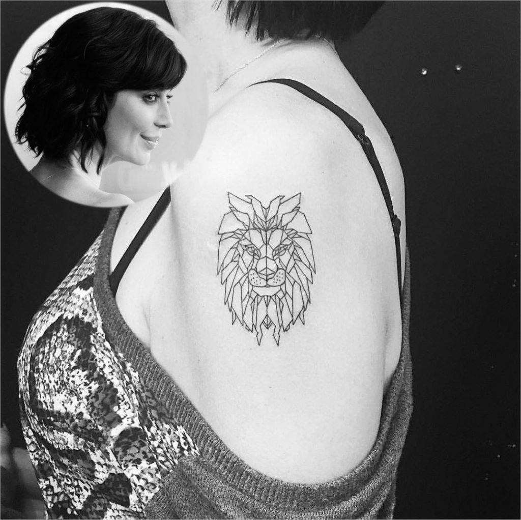 Catherine Bell Leo Tattoo
