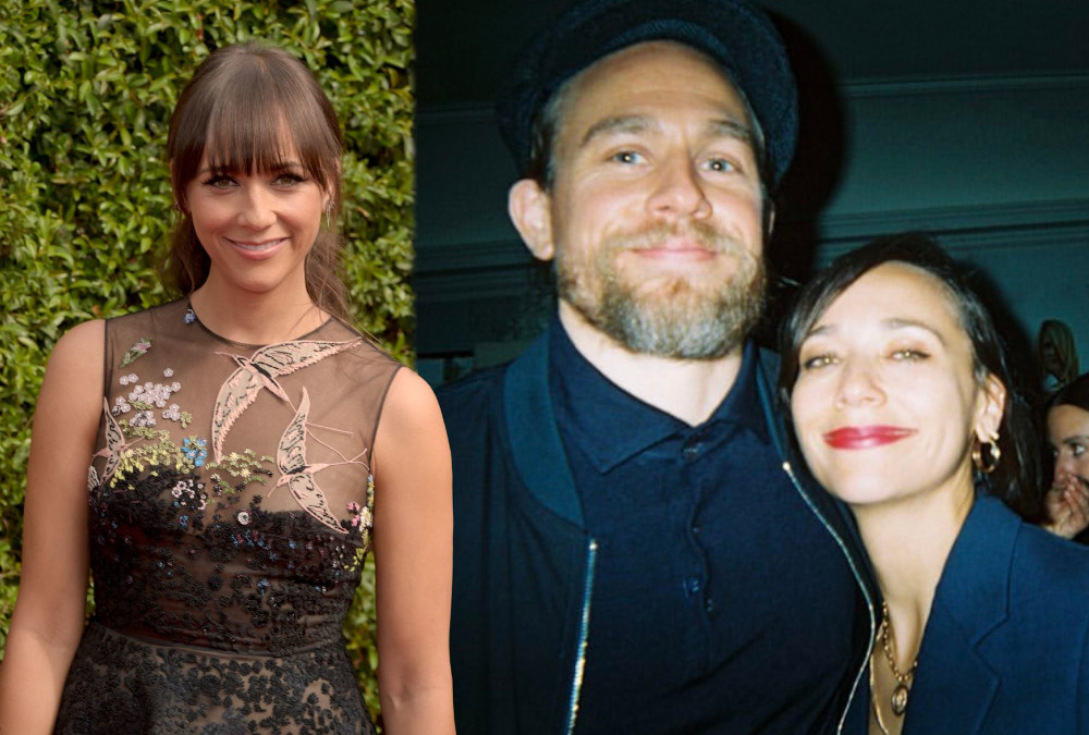 Charlie Hunnam and actress Rashida Jones