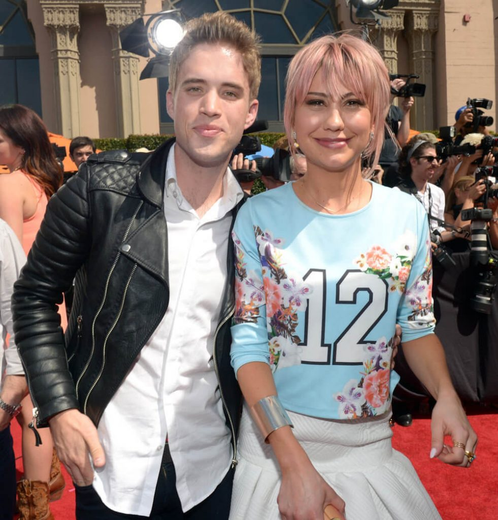 Chelsea Kane and ex bf Brian Dales