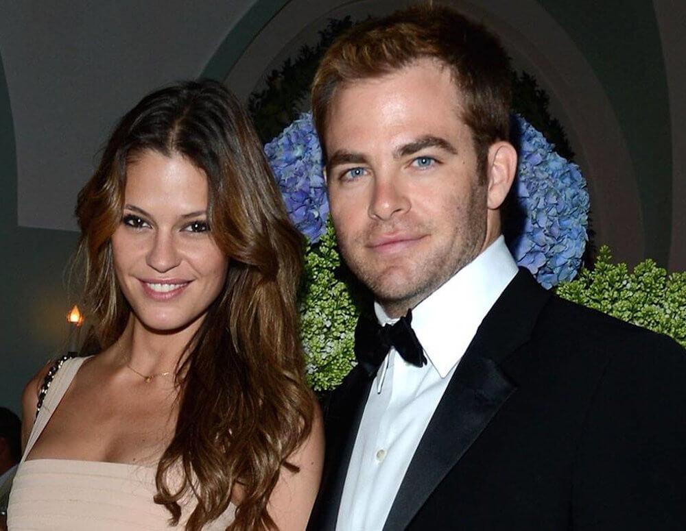 Chris Pine and ex girlfriend Dominique Piek