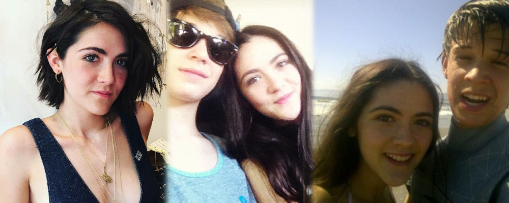 Colin Ford and ex girlfriend Isabelle Fuhrman