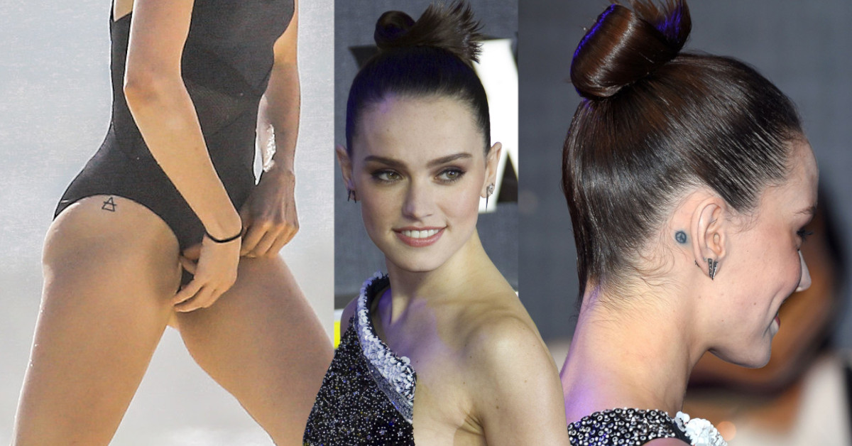 Daisy Ridley 3 Tattoos and Meanings