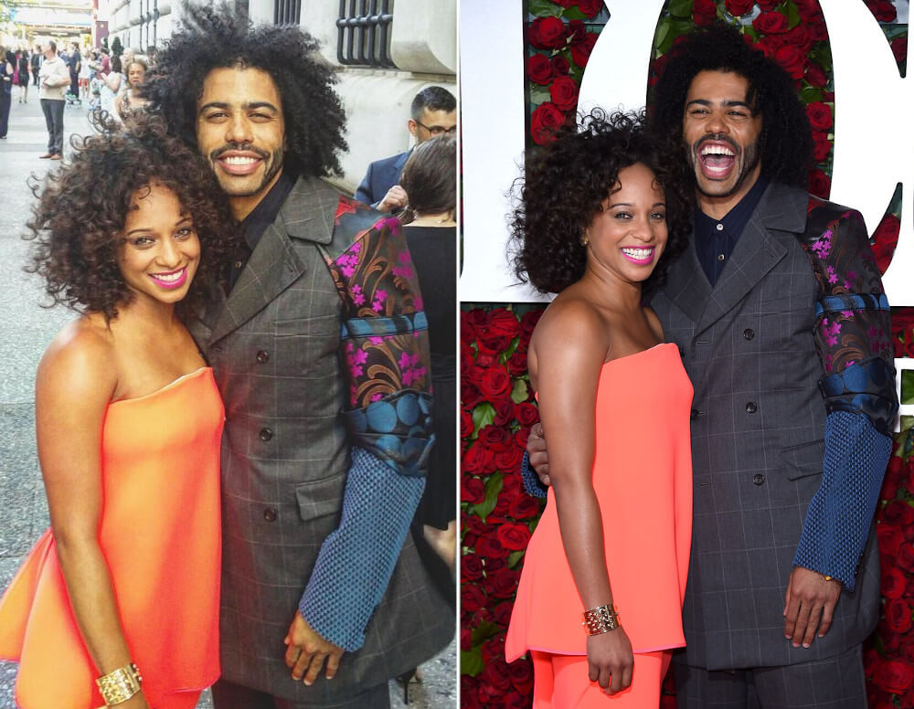 Daveed Diggs and ex Jalene Goodwin