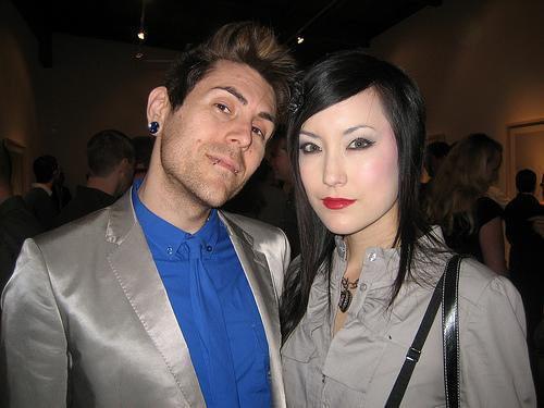 Davey Havok and Brittany Bowen