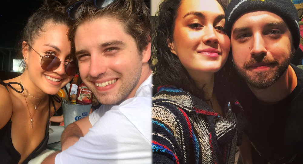 David Lambert and ex girlfriend Meg DeLacy