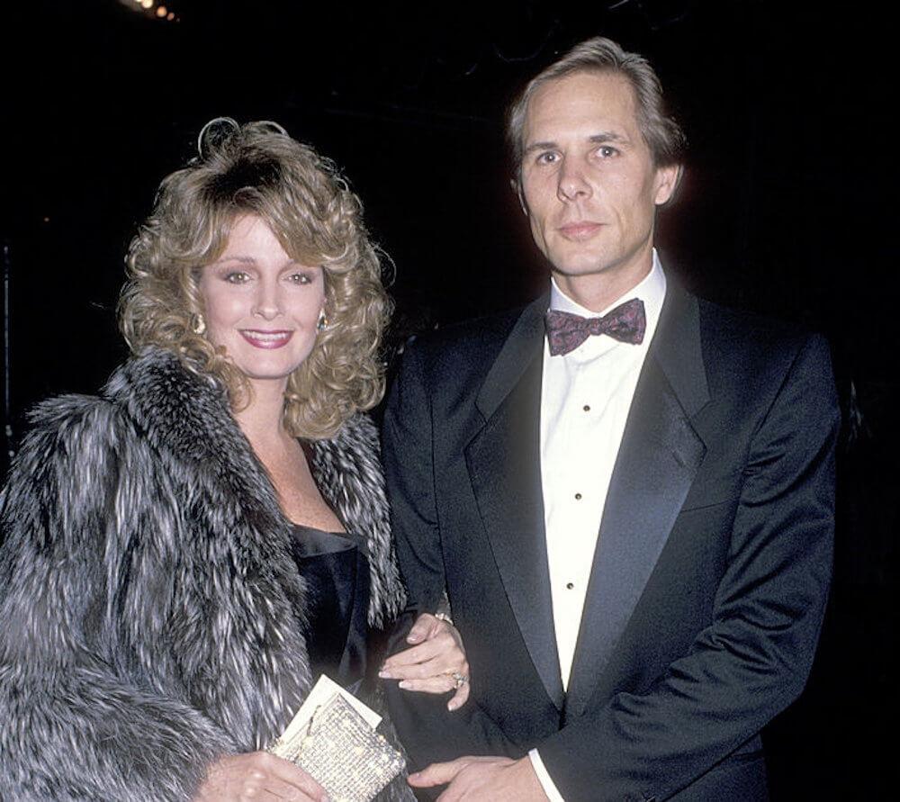 Deidre Hall and ex husband Michael Dubelko
