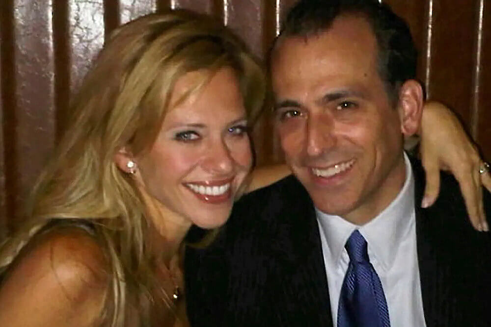 Dina Manzo and ex husband Tommy Manzo