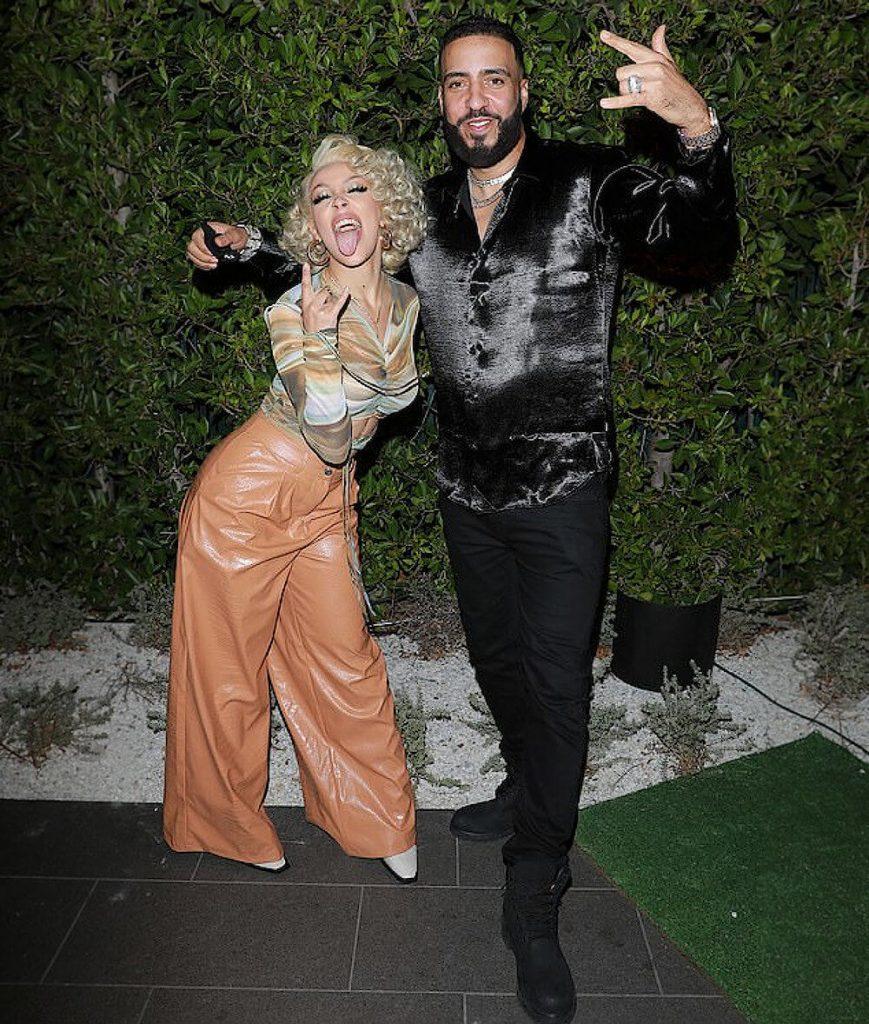 Doja Cat and ex boyfriend French Montana