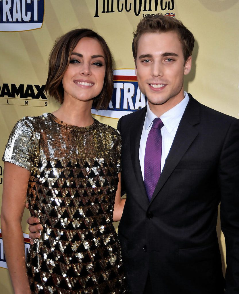 Dustin Milligan and ex girlfriend Jessica Strou